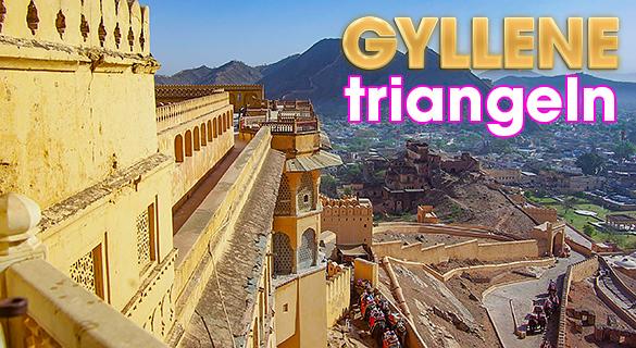 Den gyllene triangeln i Indien