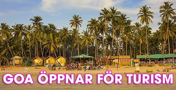 Strandhyddor / Hotell i Goa, Indien - Foto: Mats Larsson