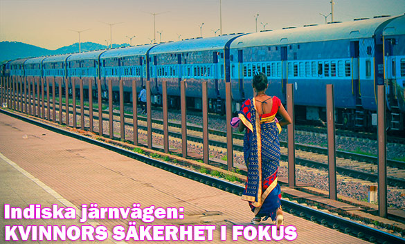Indiska järnvägen: Kvinnors säkerhet i fokus