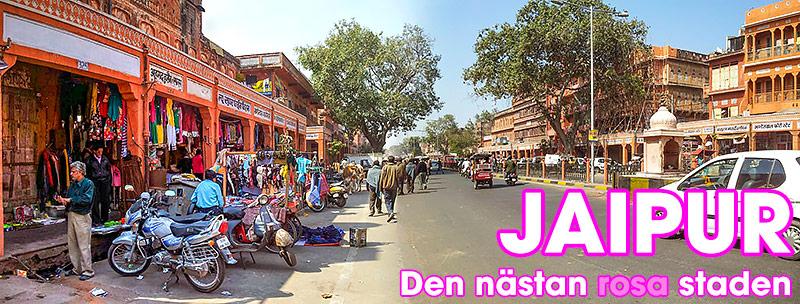 Jaipur, den rosa staden, Rajasthan, Indien
