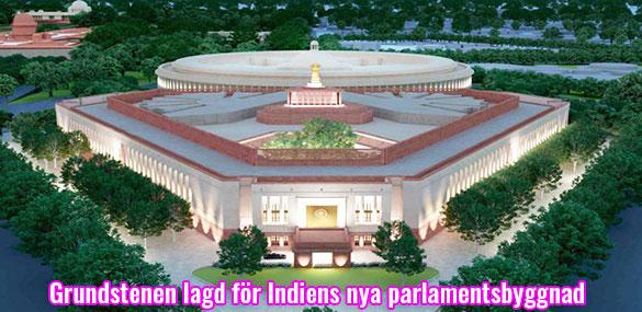 Indiens nya parlamentsbyggnad