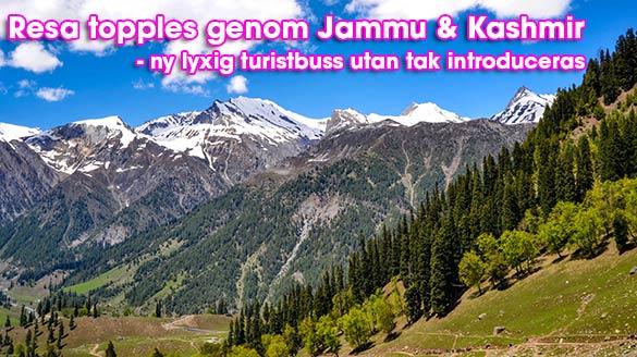 Resa toppless genom Jammu & Kashmir med lyxig turistbuss